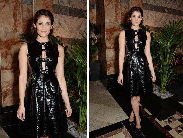 Actress Gemma Arterton wows in another gown from Erdem. Image: Twitter
