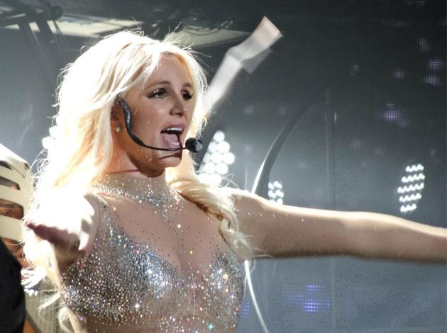 """While Britney admitted she didn't like yoga at first, it's all about """"finding a good teacher""""."""