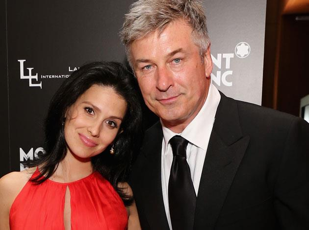 Alec Baldwin's wife Hilaria is a huge yoga fan and does a pose a day - often captured on her instagram account. Image: Getty