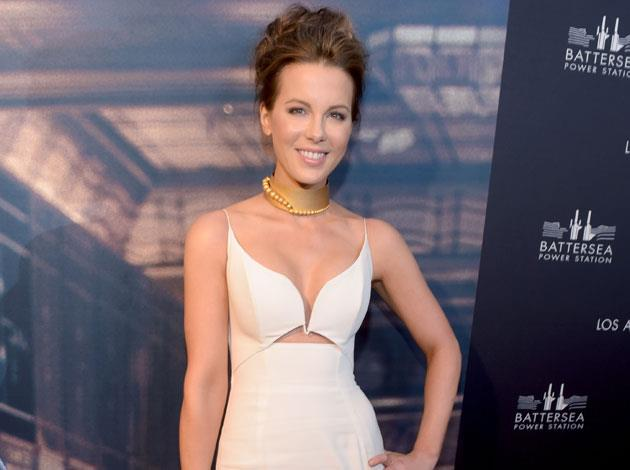 Kate Beckinsale held a yoga fundraiser back in February this year, to help raise money for the Margie Petersen Breast Center. Image: Getty
