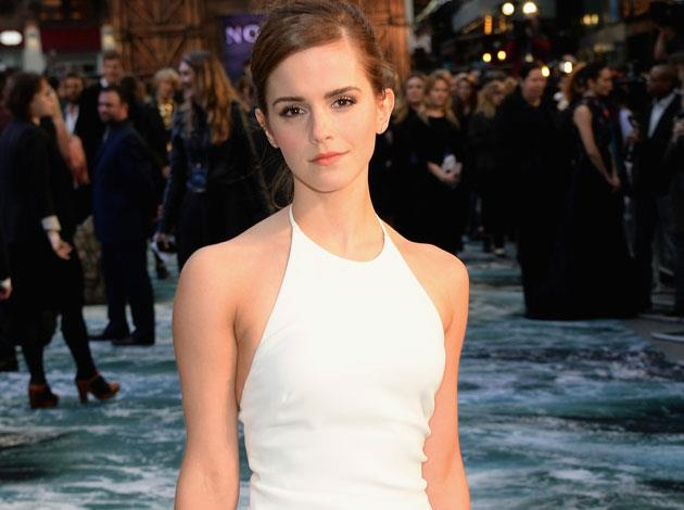 Emma Watson loves yoga so much, she even trained to become a certified instructor! Image: Getty