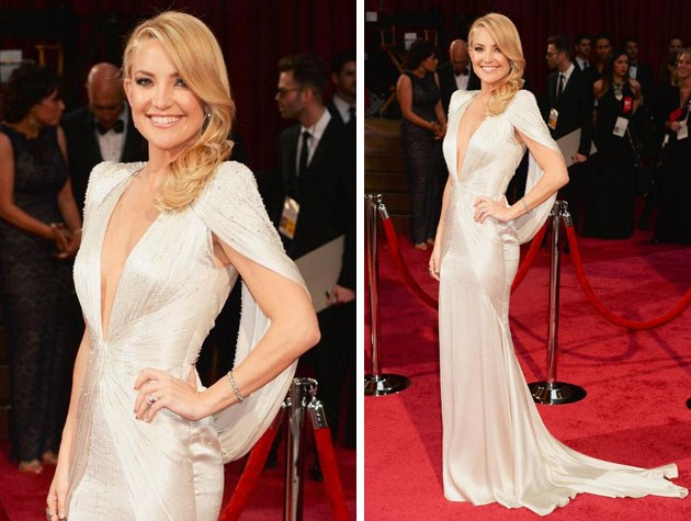 Kate Hudson looks stunning in this form-fitting gown. Image: Getty
