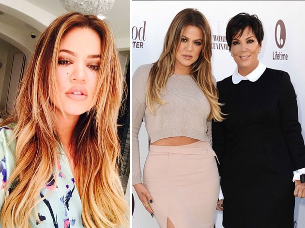 Khloe Kardashian went back to blonde this year. Image: Instagram