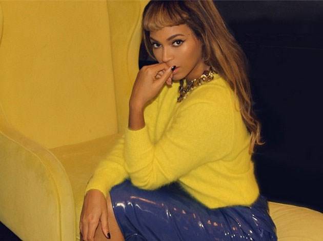 Beyonce's high-cut fringe proved to be a divisive look for the 'Drunk in Love' singer. Image: Instagram