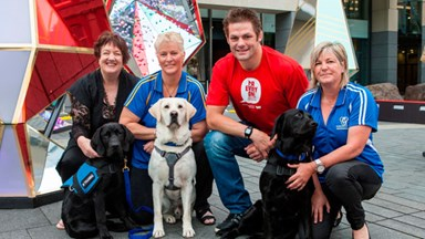 Richie McCaw launches Westpac's Giving Tree