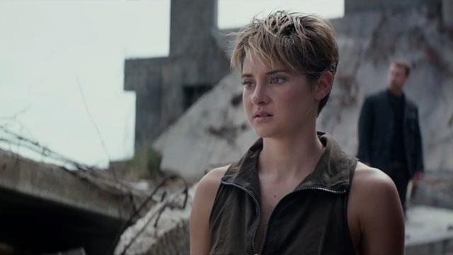 Shailene Woodley in new Insurgent trailer