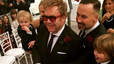 Elton John and David Furnish have officially tied the knot!