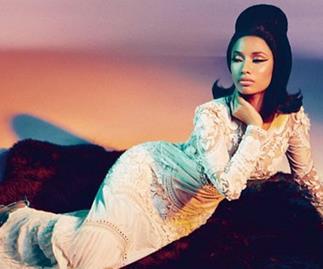 Nicki Minaj shows off a new side in her Roberto Cavalli campaign