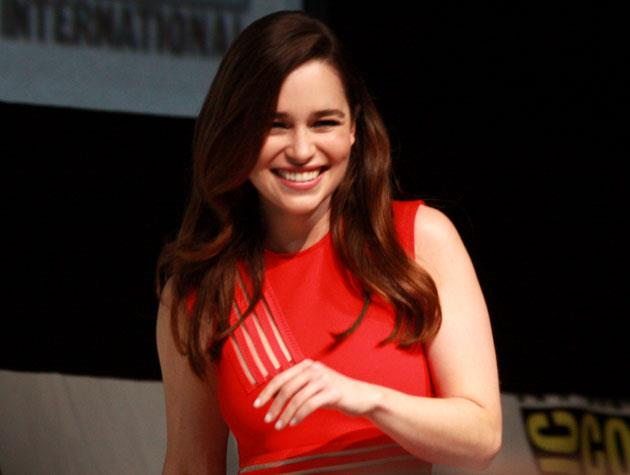 You might recognise her as Khaleesi on *Game of Thrones*, but Emilia Clarke will soon be taking on another iconic role in the next *Terminator* film.