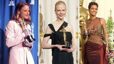 Oscar dresses through the years