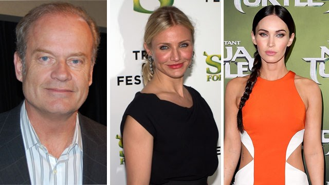 2015 Razzie winners Kelsey Grammer, Cameron Diaz and Megan Fox