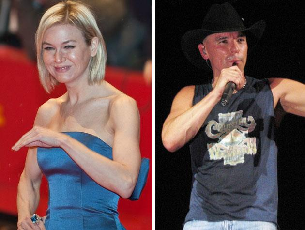After whirlwind relationships with Jim Carrey and Jack White, Renee Zellweger tied the knot with country singer Kenny Chesney in May of 2005. Four months later, they announced their separation.