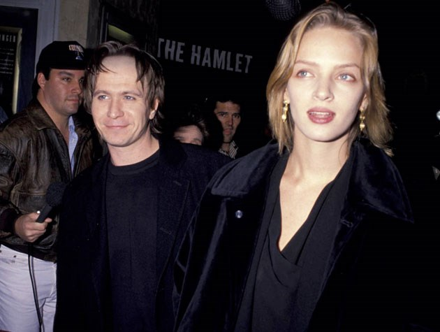 Before her tumultuous relationship with Ethan Hawke, Uma Thurman was married to Gary Oldman from 1990-1992.