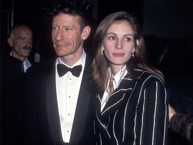 Julia Roberts married country singer Lyle Lovett in 1993, before separating two years later.