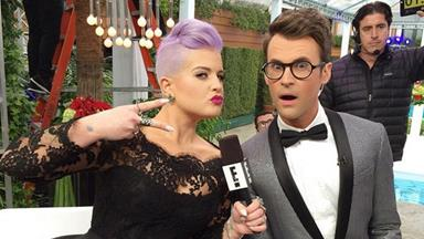 Kelly Osbourne leaves Fashion Police