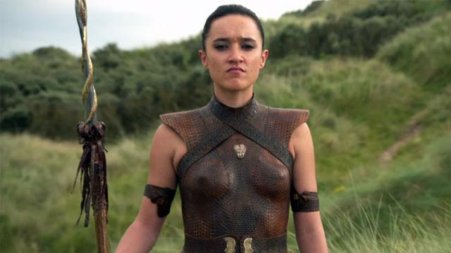 First look: Keisha Castle-Hughes in 'Game of Thrones ...  First look: Kei...