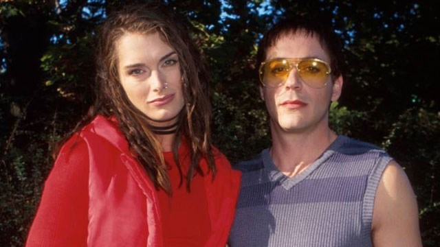 Brooke Shields, Robert Downey Jr.