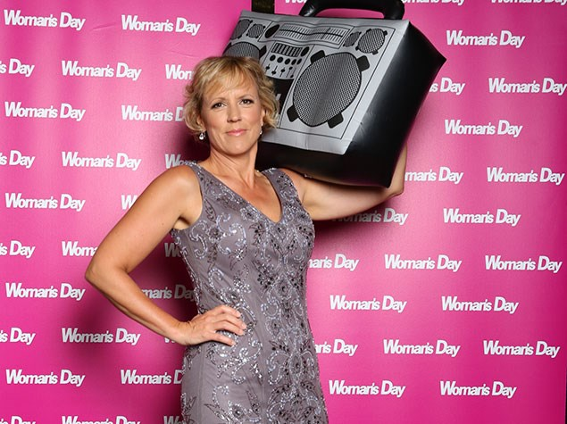 Hilary Barry gets into the X Factor spirit!