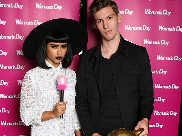 "[Now-axed judges](http://www.womansday.co.nz/celebrity/celebrity-news/2015/3/x-factor-judges-fired-over-bullying-comments/|target=""_blank"") Natalia Kills and Willy Moon were also at the party."