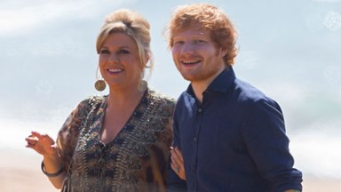 Ed Sheeran spotted filming 'Home and Away' in Australia