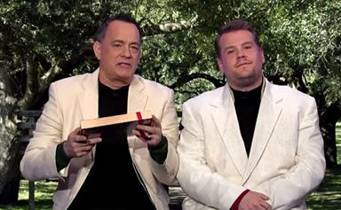 Watch: Tom Hanks re-enacts all his movies in just 8 minutes
