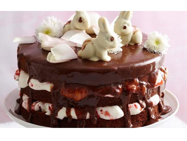 "In the mood for something a little bit more ambitious? Try this decadent triple-layer [Easter mud cake](http://www.womansday.co.nz/food/recipes/everyday-recipes/2013/3/easter-triple-layer-mud-cake/|target=""_blank"")."