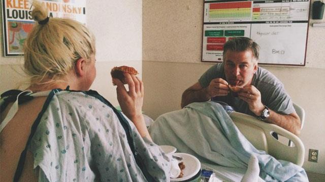 Ireland Baldwin shares sweet photo with dad Alec