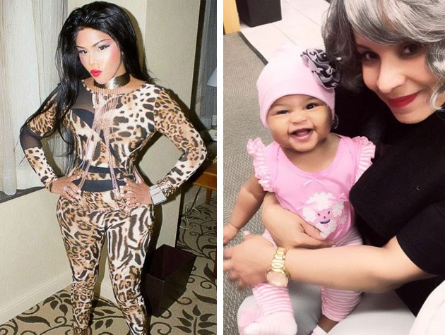 Rapper Lil' Kim has a daughter named Royal Reign.