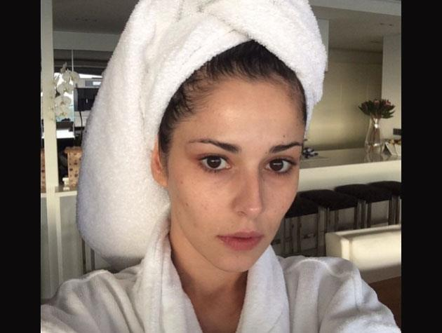 Cheryl Cole shared this makeup-free selfie - apparently her dad thinks she looks exactly like his mum at her age!