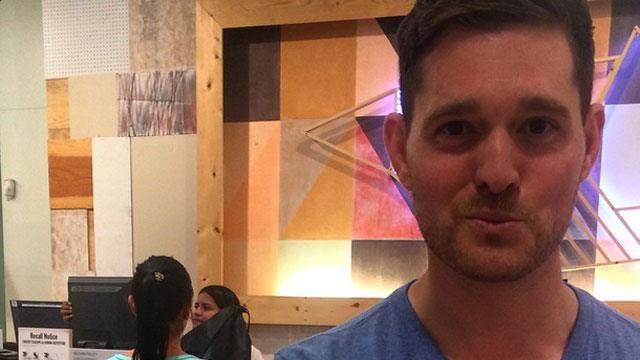 Michael Buble apologises for controversial photo