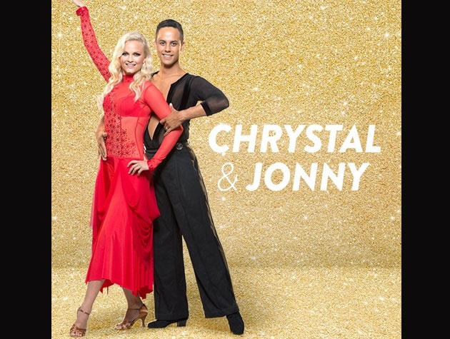 *The Bachelor*'s Chrystal Chenery is ditching the rose in hopes of winning a mirror ball trophy instead! Her partner is Jonny Williams, and her chosen charity of choice is the Home and Family Society Christchurch.