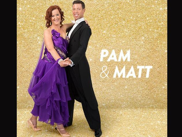Former politician and broadcaster Pam Corkery is paired up with Matt Tatton-Brown, and she'll be dancing for the Higher Ground Drug Rehabilitation Trust.