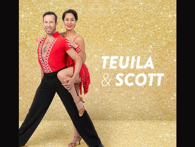 *Shortland Street* star Teuila Blakely's dance partner is Scott Cole, and she'll be competing for Women's Refuge.
