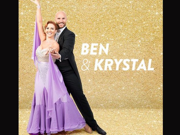 Kiwi actor Ben Barrington (best known for *Almighty Johnsons* and *Offspring*) will be dancing with Krystal Stuart for St. John.