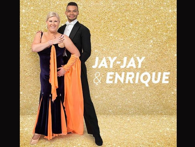 Radio host Jay-Jay Harvey is stepping out from behind the mic to take on the dancefloor with partner Enrique Johns. Her charity is Fertility New Zealand.