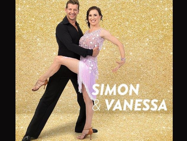 Another radio star stepping onto the dancefloor is More FM breakfast host Simon Barnett, who is partnered with Vanessa Cole. His charity is the Salvation Army.