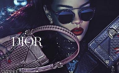 Get your first look at Rihanna's new campaign for Dior
